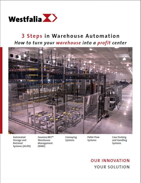 3 Steps in Warehouse Automation