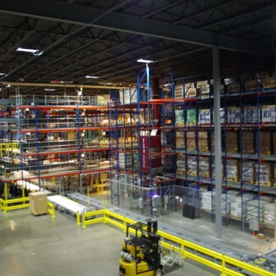 Westfalia's AS/RS featured in Breakthru Beverage Illinos' state-of-the-art facility in Cicero, IL