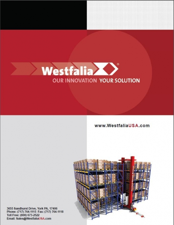 Westfalia Corporate Brochure