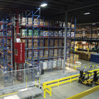 Breakthru Beverage Illinois' Automated Storage and Retrieval System